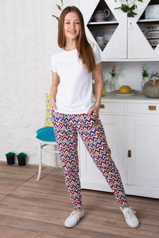 Цветные женские брюки Красная Ветка