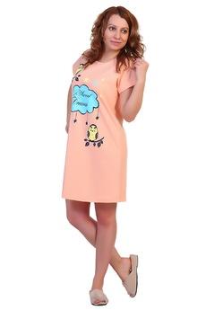 Сорочка-футболка с облачком ElenaTex