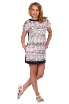 Короткое платье с карманами ElenaTex