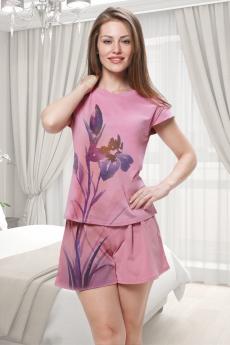 Новинка: розовый домашний костюм Brosko